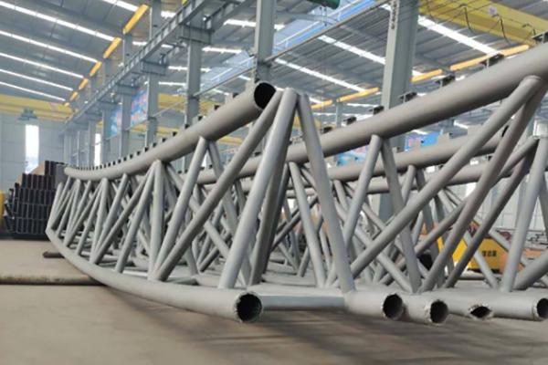拱形管桁架